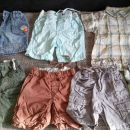 Kratke hlače, srajčki: 74, 74, 86, 80, 80, 80, 86