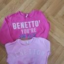 Majici Benetton št. 110...cena 3 eur/kom