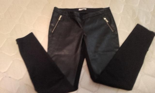 Usnjene hlače fracomina m - foto