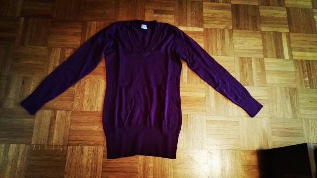 Tunika-tanjši pulover velikost S. Nošena, lepo ohranjena.