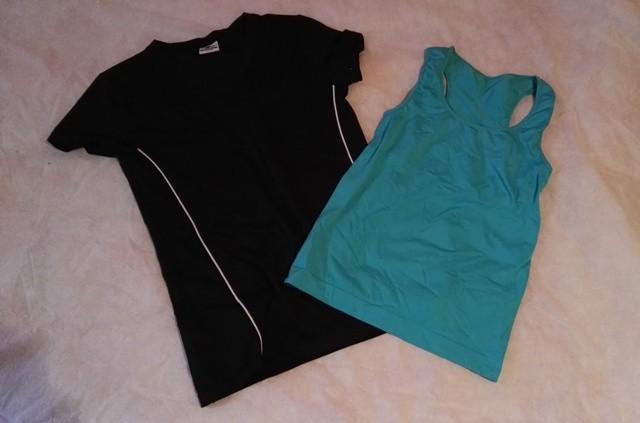 Športni-fitness majici.  XS in S ter M.
