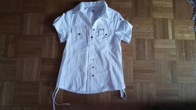 Bela bluzica S. Nova, samo oprana.