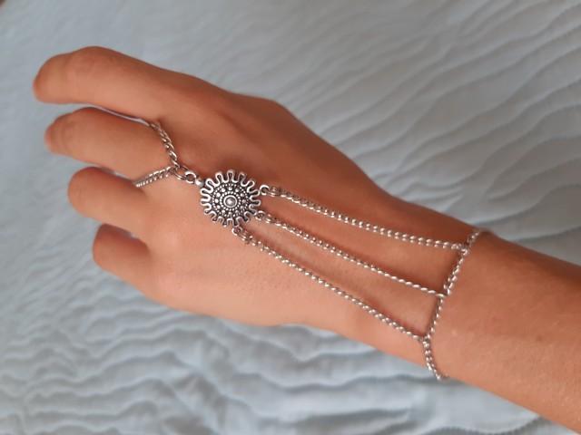 Nakit - zapestnica s prstanom - foto
