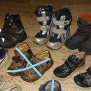 26 jesenski, zimski gležnarji, škornji 5e/kom