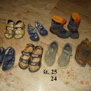 24,25 čevlji za fanta 3-5€