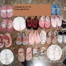 20-22 deliška obutev 2-5€