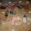 copati, sandali, superge 3-5€