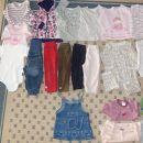 80 oblačila za deklico