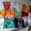 majice za starost 10.let več kosov
