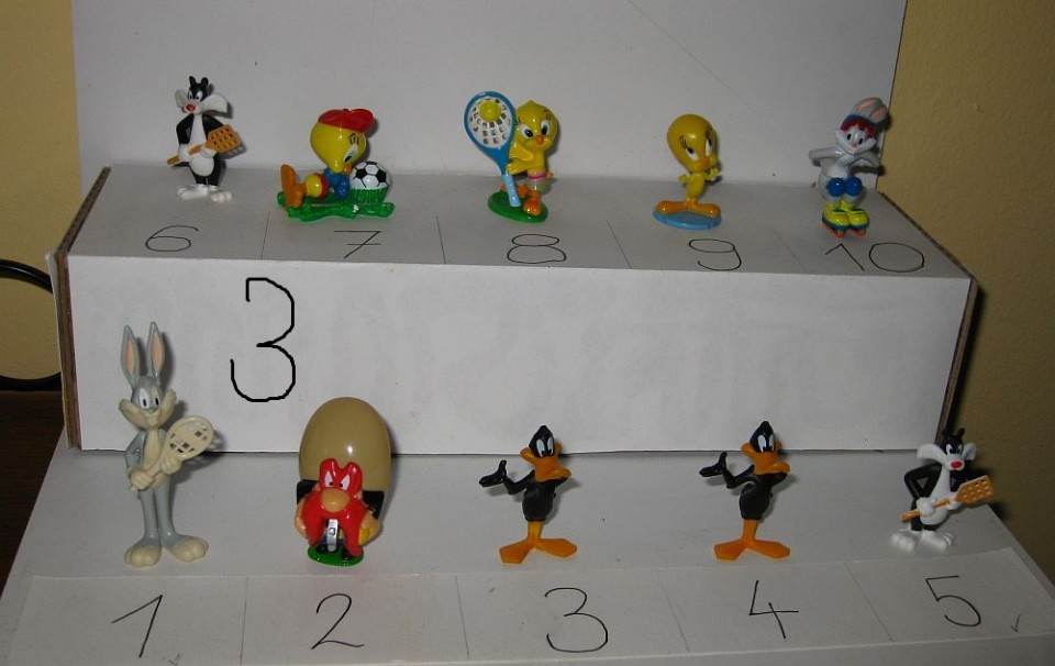 Kinder figurice - Luney tunes - foto povečava