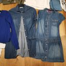 Jeans tuniki