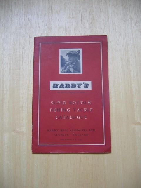 Hardy's super bottom fishing tackle catalogue; Hardy Bros (Alnwick) Ltd, Alnwick, England;