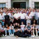 Skupinska slika pred tekmovanjem Holandija 1993