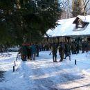 V Dobravi 05.02.2005, bazenski lov štirih lovskih družin.