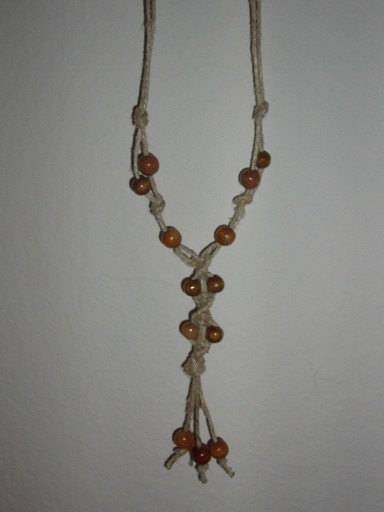 Makrame verižica