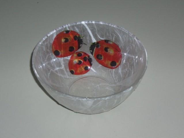 Prvi izdelek - servietna + rižev papir