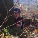 kuku...Kajči, Nejči in jaz se rade igramo skrivalnice v gozdu