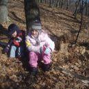 tudi Sanjo smo vlekli v gozd