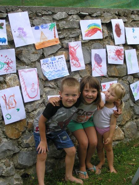 Naredili smo razstavo slik, svetovno priznanih malih umetnikov