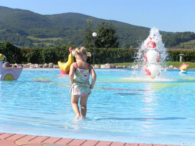 Čatežke toplice in noro prijetna vodica v bazenčkih