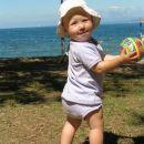 Kajči šetka po plaži San Simon