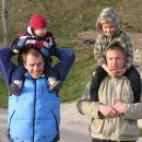 sprehod okoli hriba pri nas na Romanin rođendan (13 seveda:)
