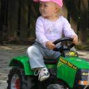 Kajin čisto ta nov traktor..