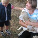 na obisku pri stricu Otonu in teti Jožici 19.8.2007