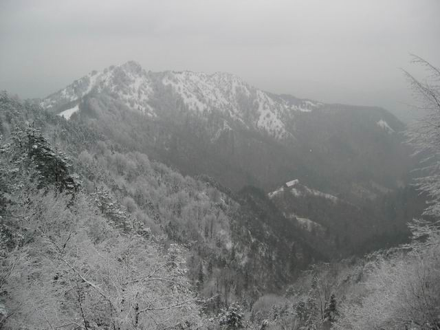 Tošč, Gonte, Grmada, 4.1.2004 - foto