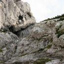 Približan del kamina do kjer se vidi od spodaj