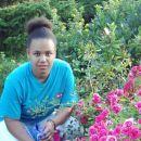 Eva in vrtnice na Livadi junij 2004