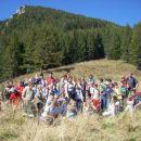 skupinska - v ozadju Goli vrh