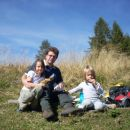 očka Metod s hčerkama