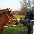 Žan z dedijem in g. Konjem