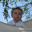 Jap, luštno je tukaj v mreži pod brezami!