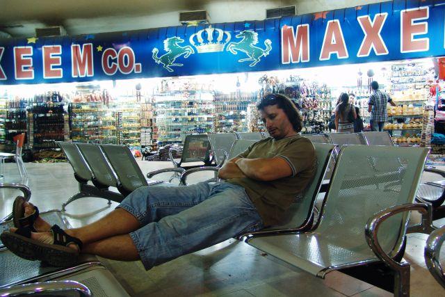 Naporno čakanje na let