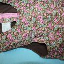 Žametne hlače HM z naramnicami; velikost 86; 4€ + ptt