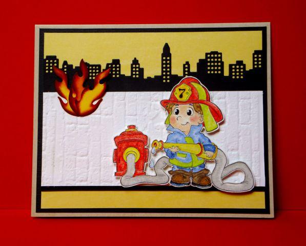 Simpatični gasilec, oktober 2013