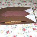 Čokoladna voščilnica za moške. Čokoladke MERSI :)