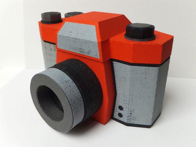 ŠKATLICA fotoaparat iz papirja, februar 2014
