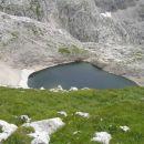 Pogled na spopdnje Kriško jezero