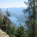 Pogled na Bohijsko jezero.