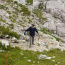 Čeprav je višek poletja, je bilo ta dan presneto hladno nad 2000 metri.