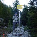 Pred vstopom v plezalno smer na Stol.