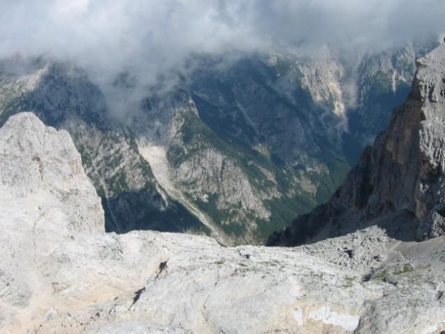 Dolina Vrata, pogled čez