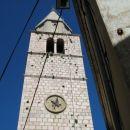 Cerkveni zvonik v Vrbniku.