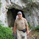 Martin Dobnikar, potem, ko je prišel iz tunelčka.