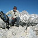 Mali Draški vrh, Triglav in moja malenkost.