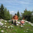 Domačin iz Kovorja, ki je na Dobrči skoraj vsak dan.