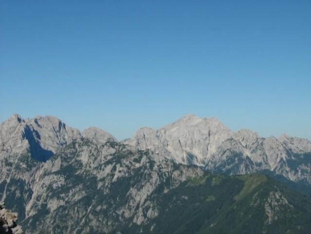 Kamniške alpe z Skuto.